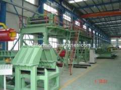High Speed PU Sandwich Panel Production Line For Steel Roll Forming Machine