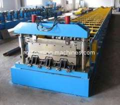 Steel Floor Deck Roll Forming Machine, 1250 mm Width Metal Deck Roll Forming Machine