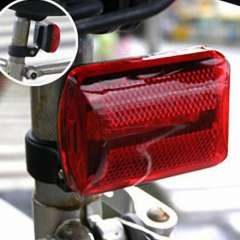 Pratical Brightness Waterproof 5LED Bicycle Bike Rear Warning Tail Light 7-Modes Red