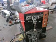 Manual Downspout Elbow Machine, Down Pipe Roll Forming Machine for 75 Degree Elbow