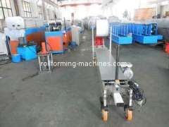 Downpipe Metal Roll Forming Machines, Portable Downspout Round Pipe Forming Machine