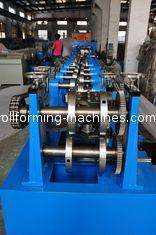 Full Automatic C Purlin Roll Forming Machine, Interchangeable Z Purlin Forming Machine