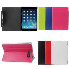 2015 Universal Muti-colors 7 inch Tablet PC Flip PU Leather Stand Case Cover For 7' Android Tablet PC High Quanlity