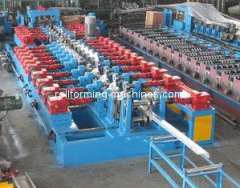 C And Z Purlin Roll Forming Machine, Gearbox Type