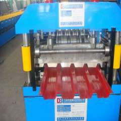 YX840 roof sheet cold roll forming machine for steel