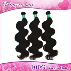 Wholesale samples 3pcs14nchs peruvian Virgin hair unprocessed hair extensions body wave free shipping