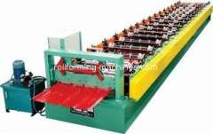 Pre-painted Steel Roof Roll Forming Machine