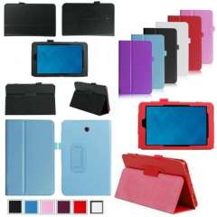 2014 New arrival Hot sale Folding Folio Leather Case Cover For 8' Venue 8 Android Tablet Just for you