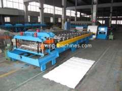 Step Tile Roll Forming Machine, Glazed Corrugated Roll Forming Machine