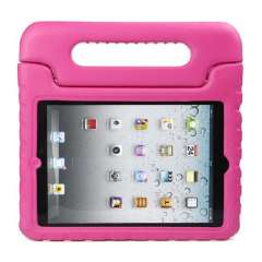 Multifunction Kids Shock Proof Handle Protective Case For iPad Mini Hot PInk Snow