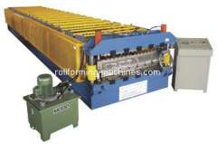 Corrugated Tile Roll Forming Machine, Automatic Roof Steel Tile Roll Forming Machine