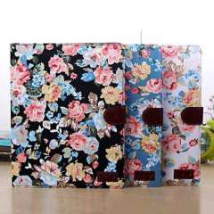 New Magnetic Wallet Flowers Floral Jacquard Leather Cover Case for iPad 2 3 4 Just for you