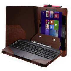New Triple Keyboard Leather Case+Pen For 10.1' ASUS Transformer Book T100TA & Just for you