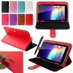 New Magic Leather Case Cover+Stylus For RCA 7' 7 Inch Android Tablet PC Just for you