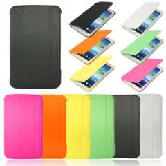 New Ultra Slim Leather Book Case Cover For Samsung Galaxy Tab 3 7.0 P3200 P3210 Just for you