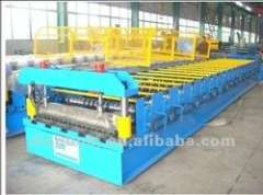 YX914 corrugated roll forming machine