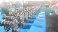 Three Waves Guardrail Roll Forming Machinery, Automatic Metal Roll Forming Machine