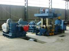 Reversible Cold Rolling Mill Metal Roll Forming Machine, Four Roll, 185*460*500mm