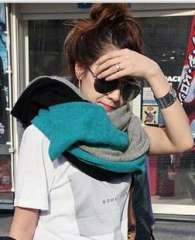 2012 three-color color block decoration solid color scarf autumn and winter female knitted lovers muffler scarf