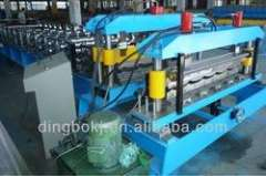 Automatic Steel Glazed Tile Panel Roll Forming Machine