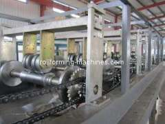 1220-800 K Span Roll Forming Machine, K Arch Curving Machine