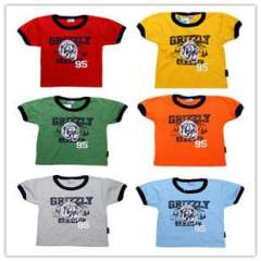 2013 child baby infant cartoon short-sleeve tt children's clothing