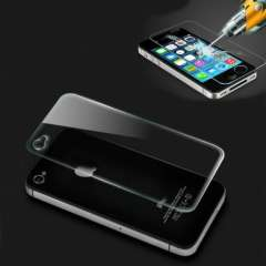 New Set Front & Back Tempered Glass Film Screen Protector for iPhone 4 4S Just for you