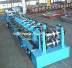 Interchangeable C & Z Purlin Forming Machine, High Precision C Purlin Roll Forming Machine