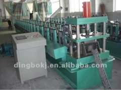 omega shape roll forming machine with automatic stacker