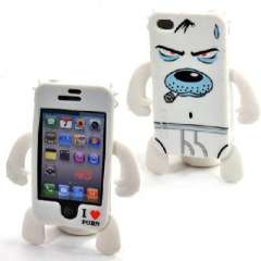 iphone4 shell / devil robots modeling cell phone protective cover - Smoking Dog