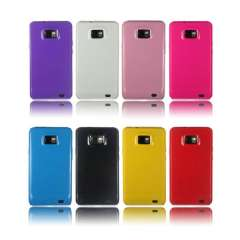 Unique SOFT GEL TPU SILICONE CASE COVER FOR SAMSUNG I9100 GALAXY S 2 S2 Snow