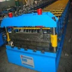 YX1250 roof panel roll forming machine
