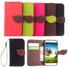 New Flip Leather Wallet Magnetic Case Cover For Samsung Galaxy S4 i9500 Just for you