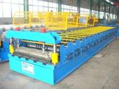 corrugated tiles roll forming machine
