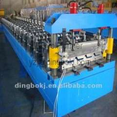 YX-840 roof roll forming machine with automatic stacker
