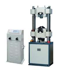 WE-1000B LCD display hydraulic universal testing machine