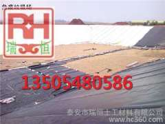 Jiangsu tongshan supply chemical wastewater treatment pools impervious construction of HDPE geomembrane welding