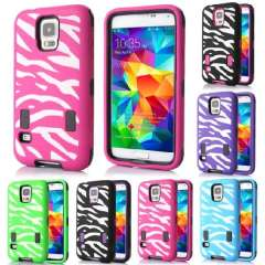 New Premium Zebra Pattern Armor Case Cover for Samsung Galaxy S5 i9600 Just for you