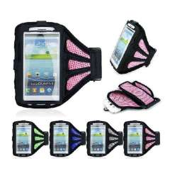 Unique Sport Gym Running ArmBand Case For Samsung Galaxy S3 III i9300 Snow