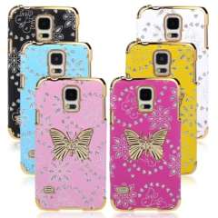 New Bling Leather Butterfly Case Cover For Samsung Galaxy S5 i9600 G900 Just for you