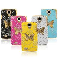 Bling Leather Skin Butterfly Case Cover For Samsung Galaxy S4 IV i9500 Just for you