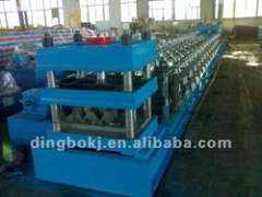 Three wave Guard Rail Forming Machine Line