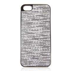 iPhone 5 Plastic Enclosures | Power stickers | Silver