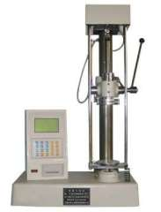 Manual spring tension and compression testing machine