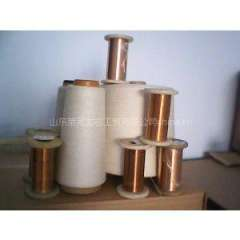 Supply of the metal filament polyester blended yarn copper core yarn series of anti-static cloth and special electrodes