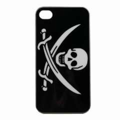 Pirate skull and crossbones applies IPHONE4 4G Phone Case