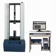 Microcomputer control gas spring performance testing machine