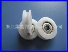 HN-524u) plastic plastic pulley | U-groove pulley | miniature sliding door pulley | factory outlets