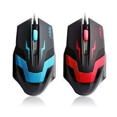 New Led Optical 1600DPI Adjustable USB Wired PC Gaming Game Mouse Mice Computer Low Price