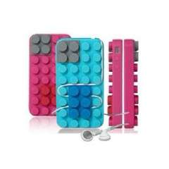 Korea BLOCK CASE iPhone4 silicone case / blocks mobile phone sets
